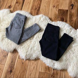 2 pair bundle BR Skinny Ankle Jeans 27P